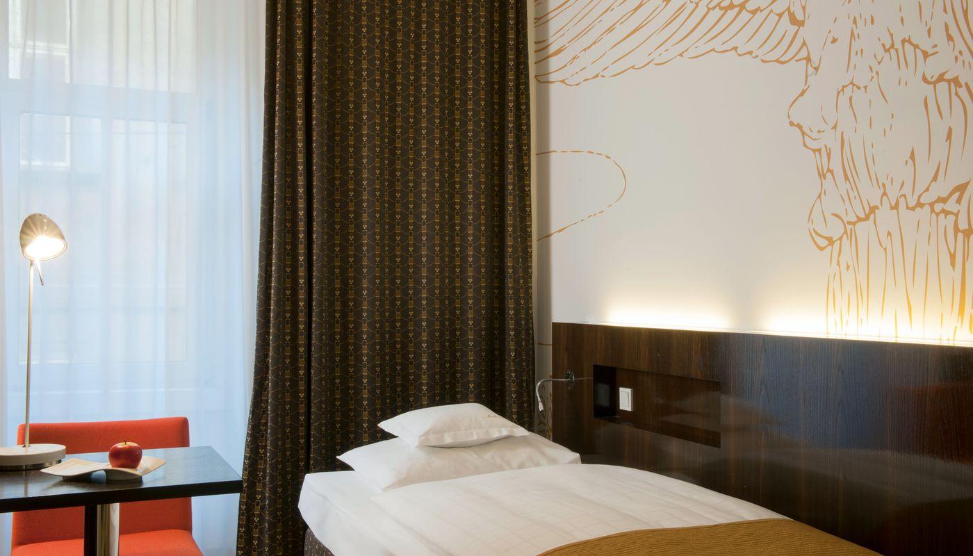 Einzelzimmer Deluxe - Alma Boutique Hotel - Wien Zentrum